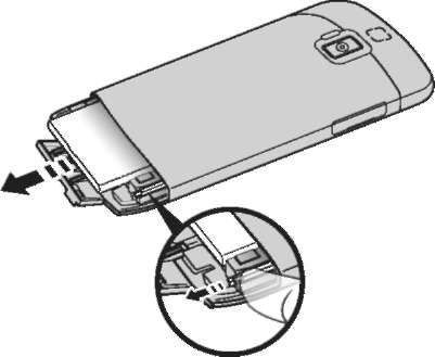Installing or removing the battery ICONIA SMART S300