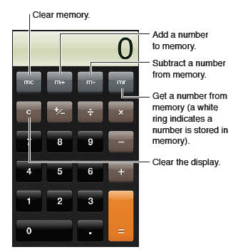 Calculator iPhone 5