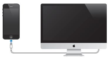 Connecting iPhone to your computer