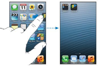 Rearranging apps
