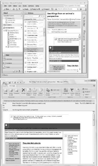 Categorizing messages Microsoft Outlook 2007
