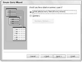 Querying a Database Microsoft Access 2007
