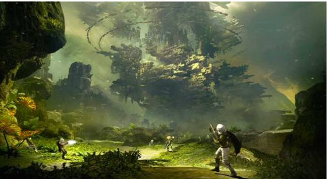 Destiny - a new game from the creators of Halo