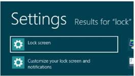 How to change the picture on the Lock screen Windows 8