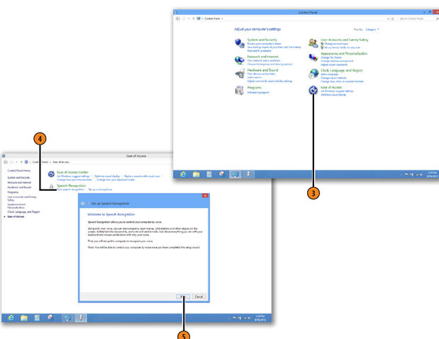 Working with Speech Recognition WINDOWS 8