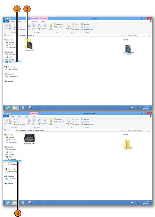Finding Files and Folders with File Explorer WINDOWS 8