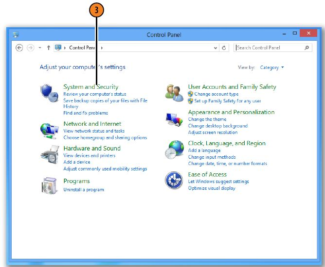 Running Disk Cleanup WINDOWS 8