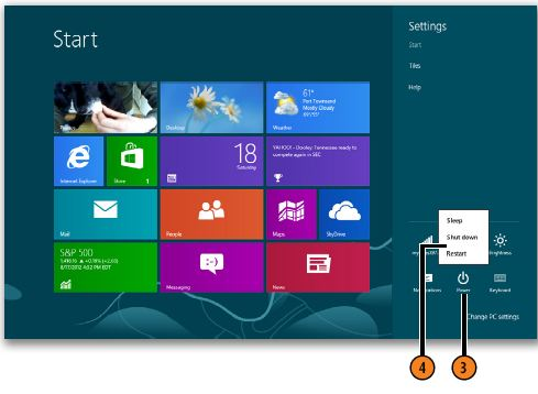 Managing Power WINDOWS 8