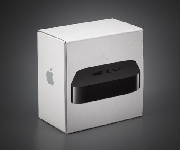 Packing apple tv