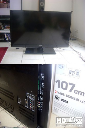 LCD TV review toshiba 42sl833